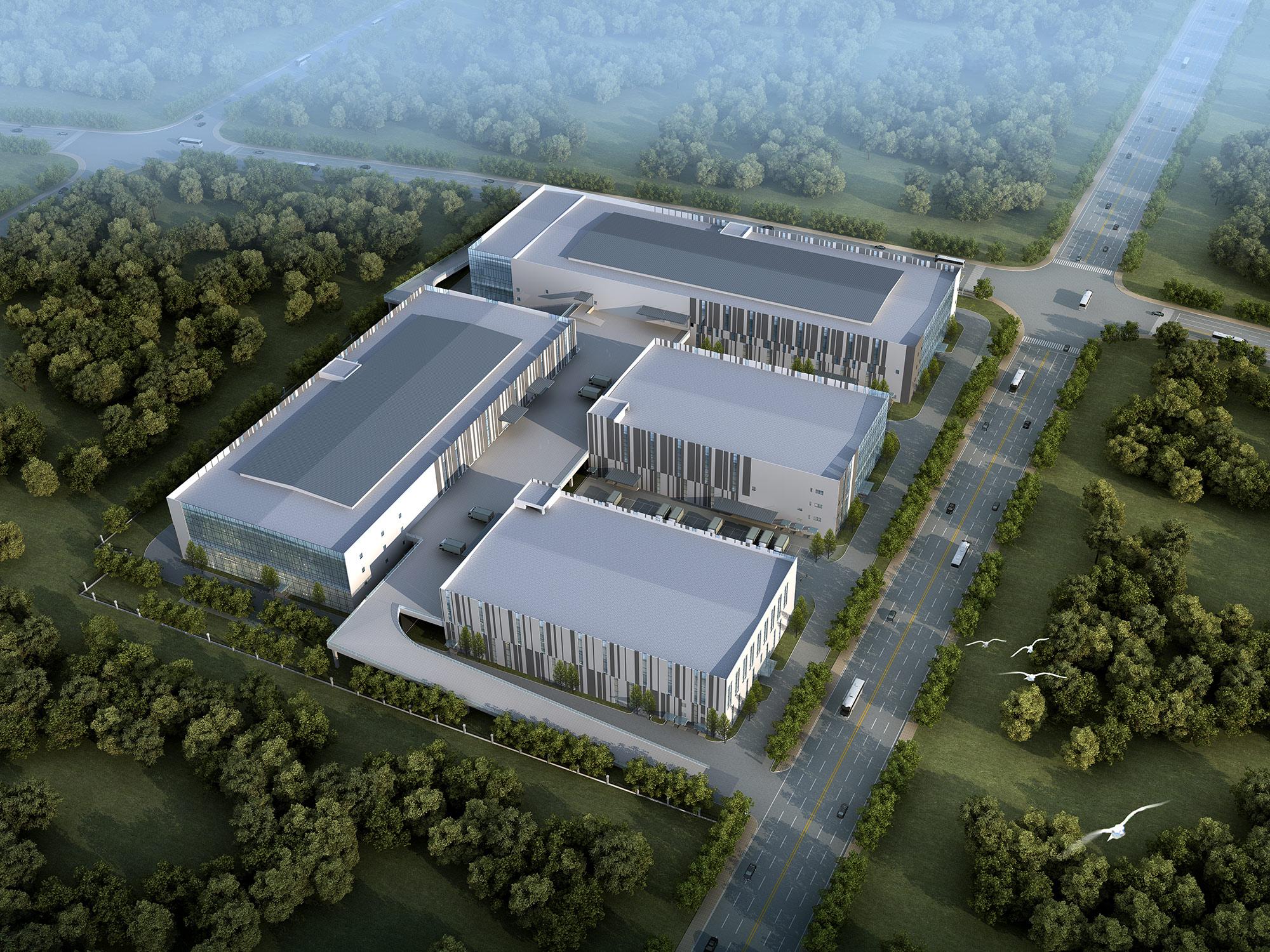 中欧轨道智能交通国际研创基地启动区项目智能厂房