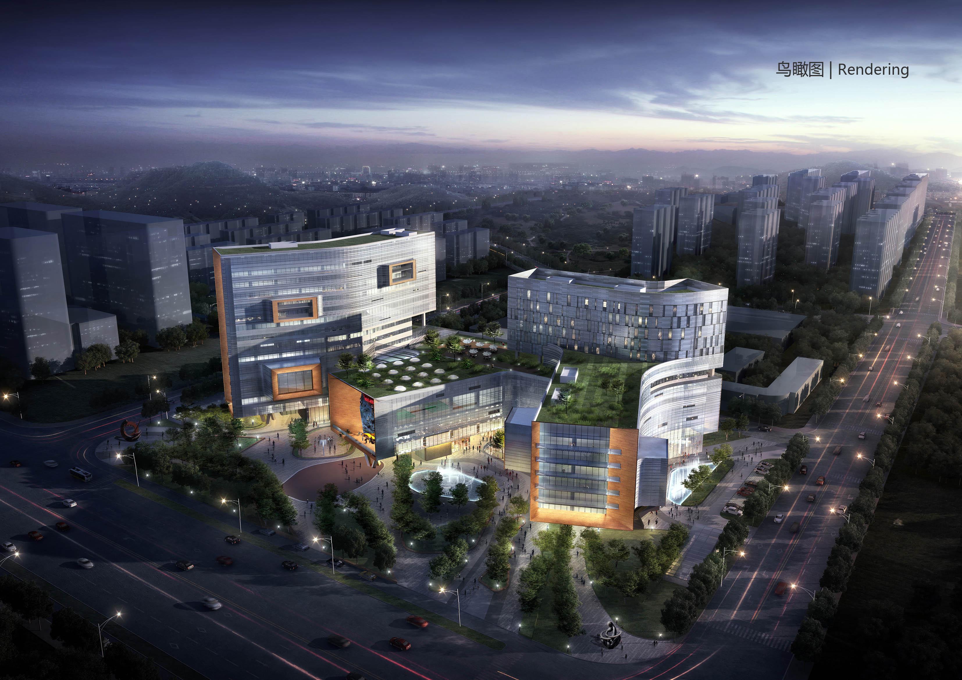 麒麟新市镇社区中心